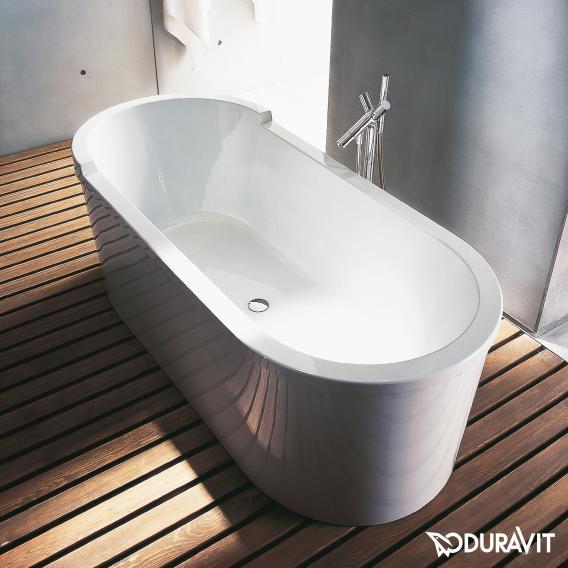 Duravit Starck freistehende Oval Badewanne mit Verkleidung