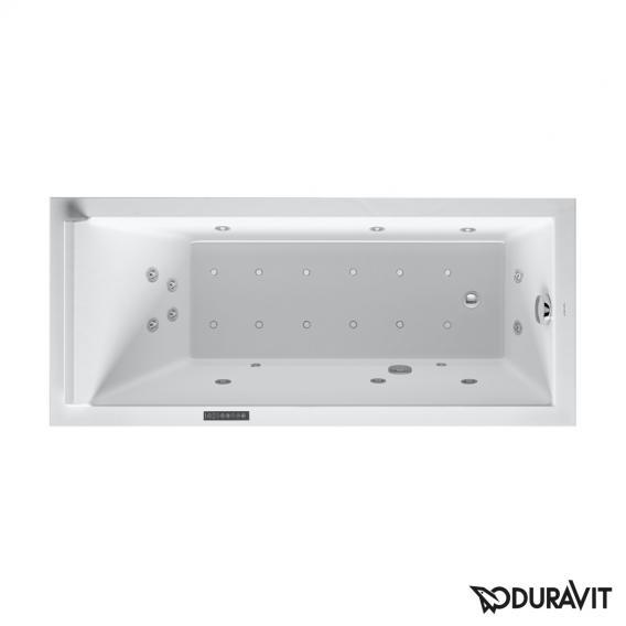 Duravit Starck Rechteck-Whirlwanne mit LED-Beleuchtung, Einbauversion oder Wannenverkleidung mit Combi-System L