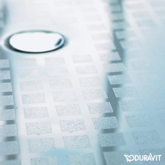 Duravit Starck Slimline Rechteck-Duschwanne weiß mit Antislip