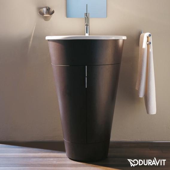 Duravit Starck Waschtischunterschrank schwarz hochglanz