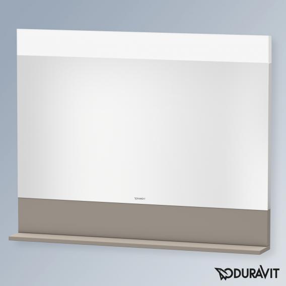 Duravit Vero Air Spiegel mit LED-Beleuchtung basalt matt, ohne Spiegelheizung