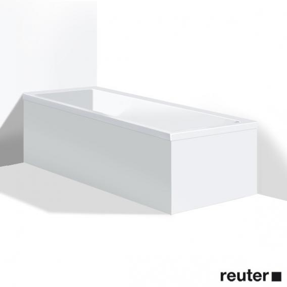 Duravit Vero Möbelverkleidung für Bade-/Whirlwanne, Ecke links weiß