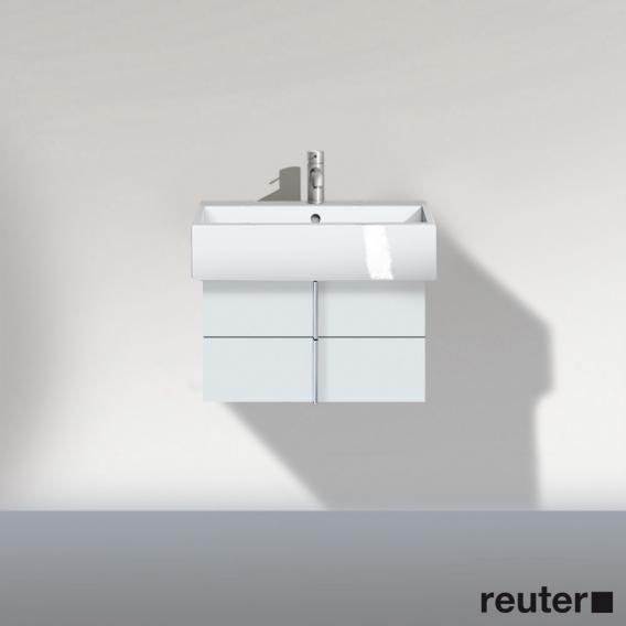 duravit vero waschtischunterschrank mit 2 ausz gen wei hochglanz ve620402222 reuter. Black Bedroom Furniture Sets. Home Design Ideas
