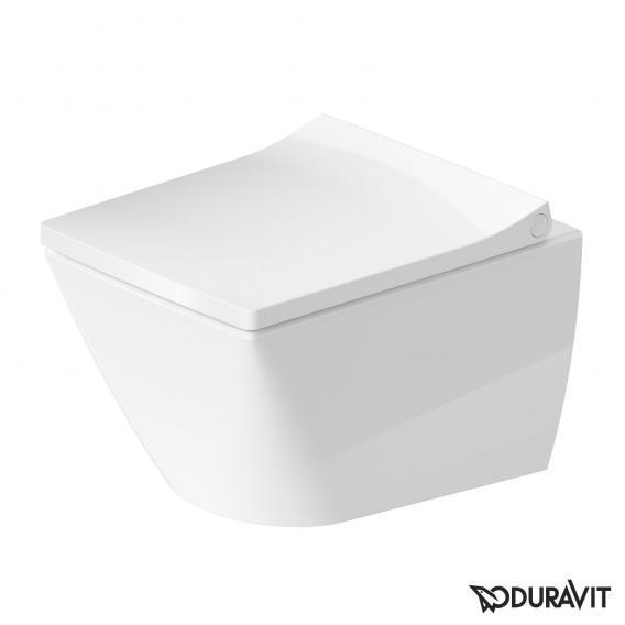 Duravit Viu Wand-Tiefspül-WC Compact weiß, mit WonderGliss