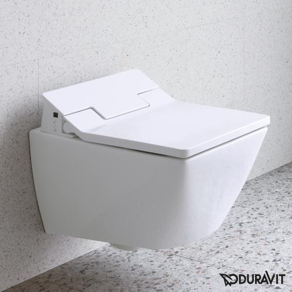 Duravit Viu Wand-Tiefspül-WC für SensoWash® weiß, mit WonderGliss