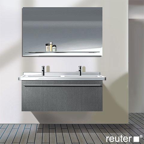 duravit x large waschtischunterschrank mit 1 auszug f r doppelwaschtisch front wei hochglanz. Black Bedroom Furniture Sets. Home Design Ideas