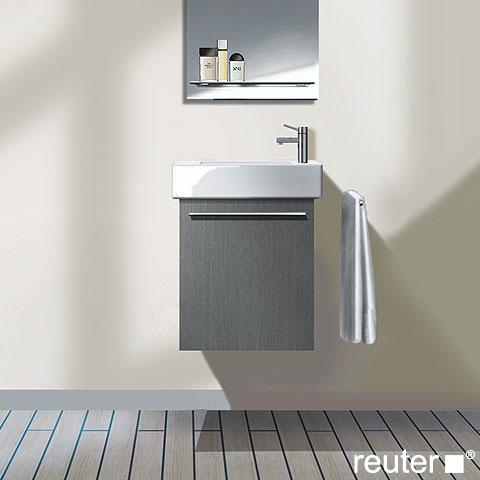 duravit x large waschtischunterschrank mit 1 t r front wei hochglanz korpus wei hochglanz. Black Bedroom Furniture Sets. Home Design Ideas