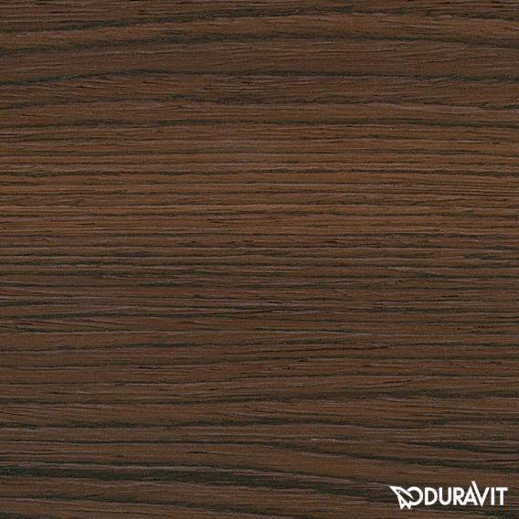 Duravit X-Large Waschtischunterschrank mit 3 Auszügen Front nussbaum gebürstet / Korpus nussbaum gebürstet
