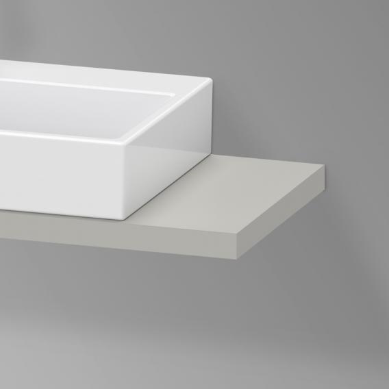 Duravit XViu Konsole für 1 Aufsatz-/Einbauwaschtisch betongrau matt