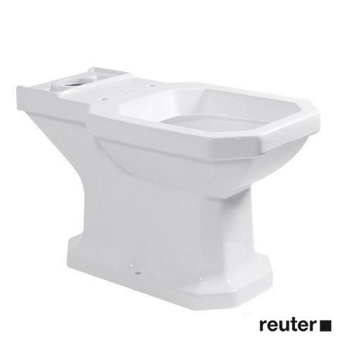 Duravit 1930 Stand-Tiefspül-WC für Kombination weiß, mit WonderGliss, Abgang senkrecht