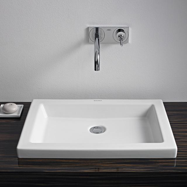 Duravit 2nd Floor Einbauwaschtisch weiß
