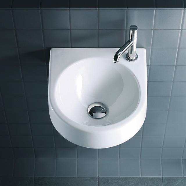 Duravit Architec Handwaschbecken weiß, mit Hahnloch rechts