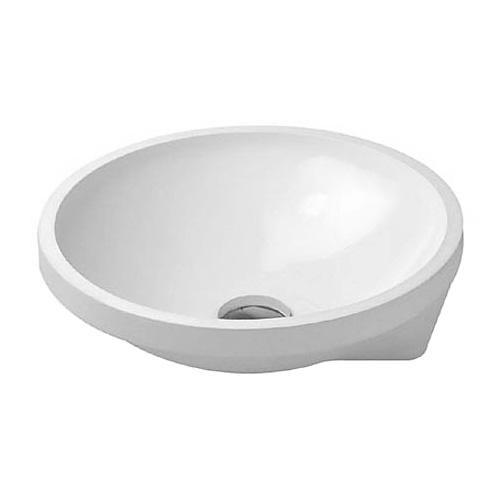 Duravit Architec Unterbau-Waschtisch weiß, ohne  Hahnloch, ohne Überlauf