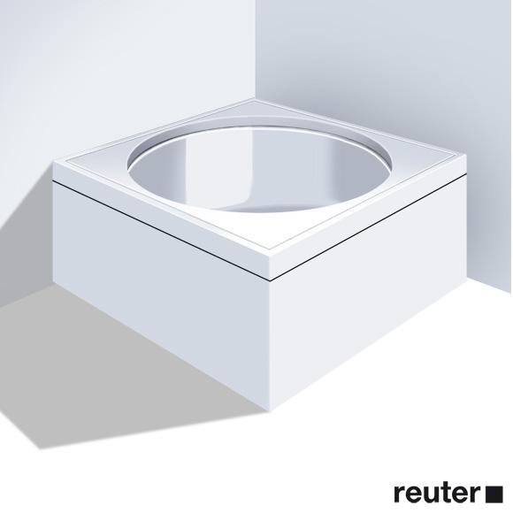 Duravit Blue Moon Möbelverkleidung für Bade-/Whirlwanne, Eckeinbau weiß