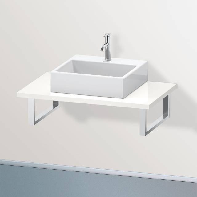 Duravit Brioso Konsole für 1 Aufsatz-/Einbauwaschtisch weiß hochglanz
