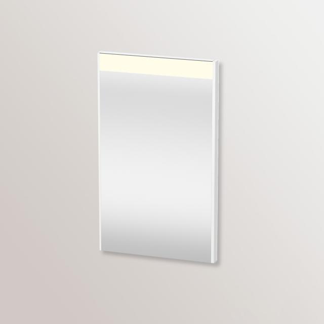 Duravit Brioso Spiegel mit LED-Beleuchtung weiß matt