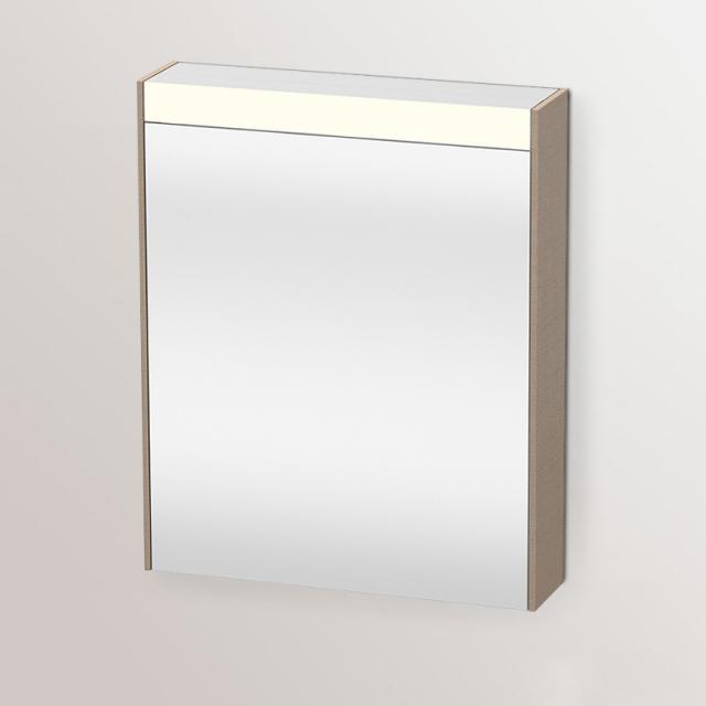 Duravit Brioso Spiegelschrank mit LED-Beleuchtung leinen
