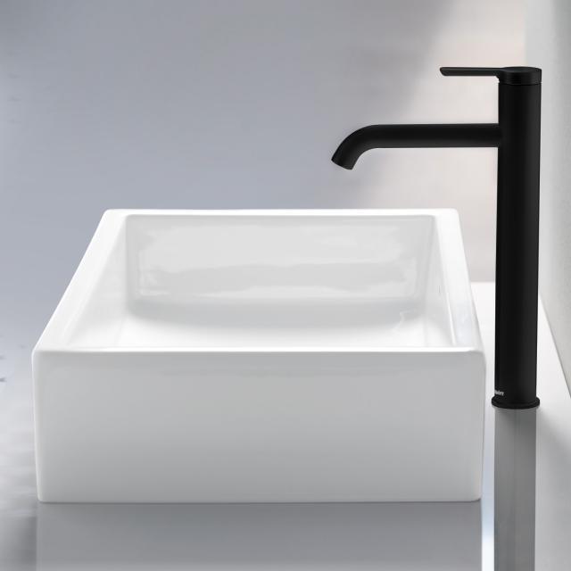 Duravit C.1 Einhebel-Waschtischmischer XL schwarz matt, ohne Ablaufgarnitur