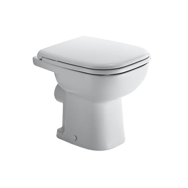 Duravit D-Code Stand-Tiefspül-WC weiß