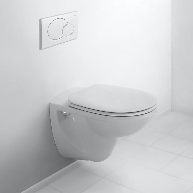 Duravit D-Code Wand-Tiefspül-WC Basic weiß