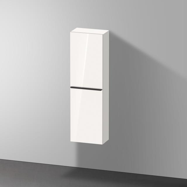 Duravit D-Neo Halbhochschrank mit 1 Tür Front weiß hochglanz / Korpus weiß hochglanz