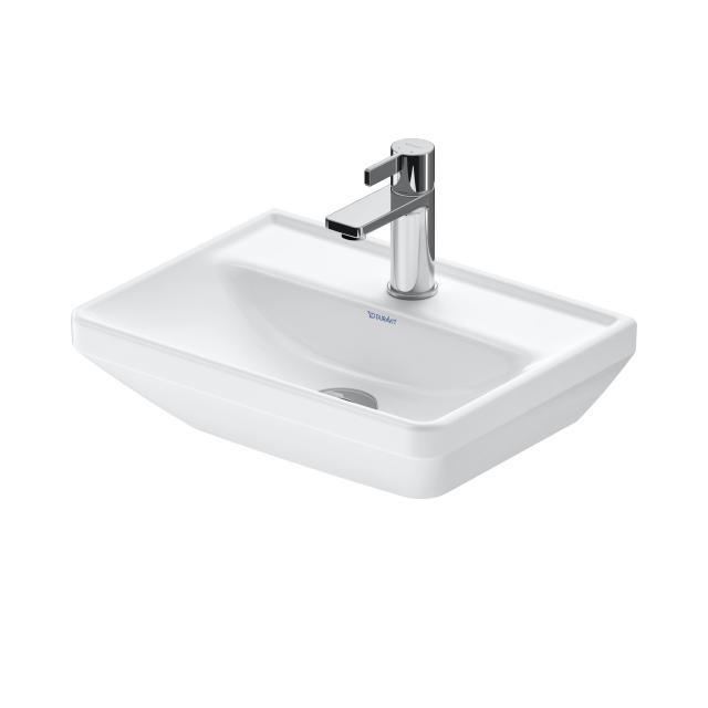 Duravit D-Neo Handwaschbecken weiß, mit WonderGliss, mit 1 Hahnloch