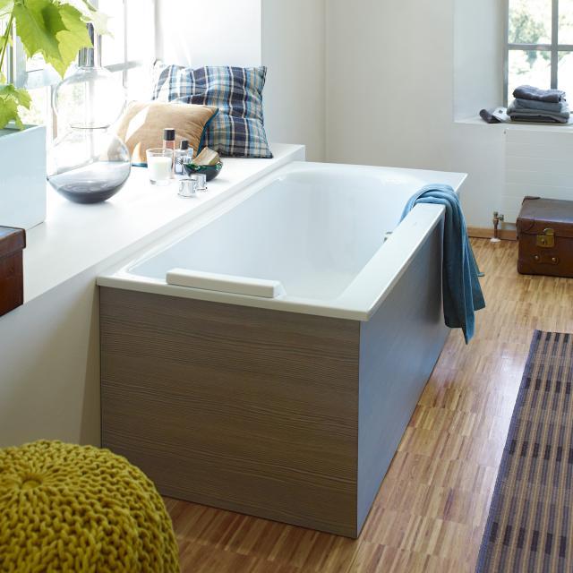 Duravit Darling New Rechteck-Badewanne, Einbau