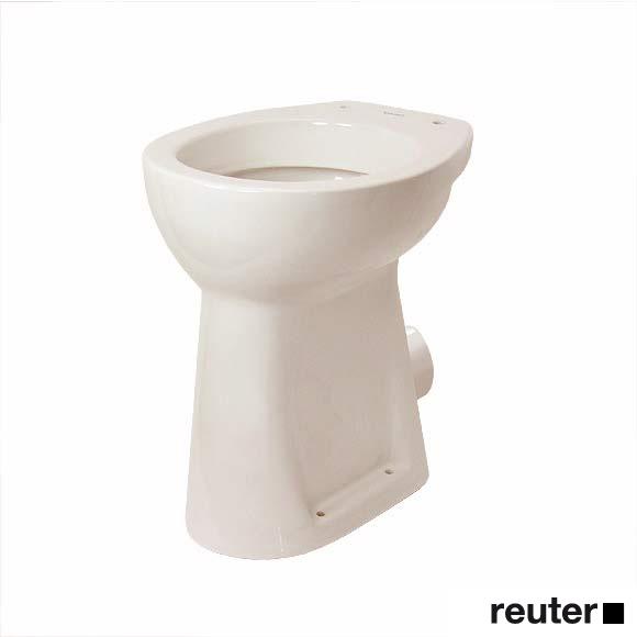 Duravit Duraplus Sudan Stand-Flachspül-WC pergamon