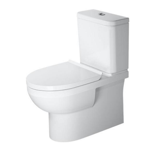 Duravit DuraStyle Basic Stand-Tiefspül-WC für Kombination, rimless weiß, mit WonderGliss