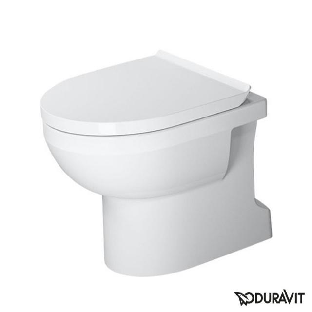 Duravit DuraStyle Basic Stand-Tiefspül-WC Set, rimless, mit WC-Sitz weiß, mit HygieneGlaze