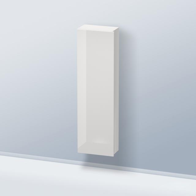 Duravit Durastyle Halbhochschrank mit 1 Tür Front weiß hochglanz / Korpus weiß hochglanz