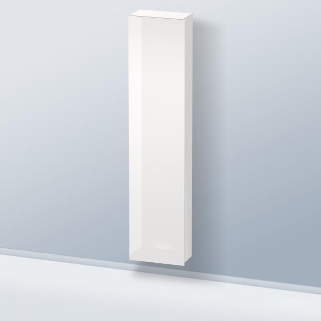 Duravit Durastyle Hochschrank mit 1 Tür Front weiß hochglanz / Korpus weiß hochglanz