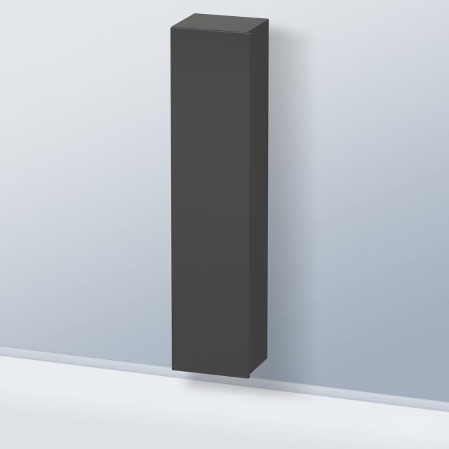 Duravit Durastyle Hochschrank mit 1 Tür Front graphit matt / Korpus graphit matt