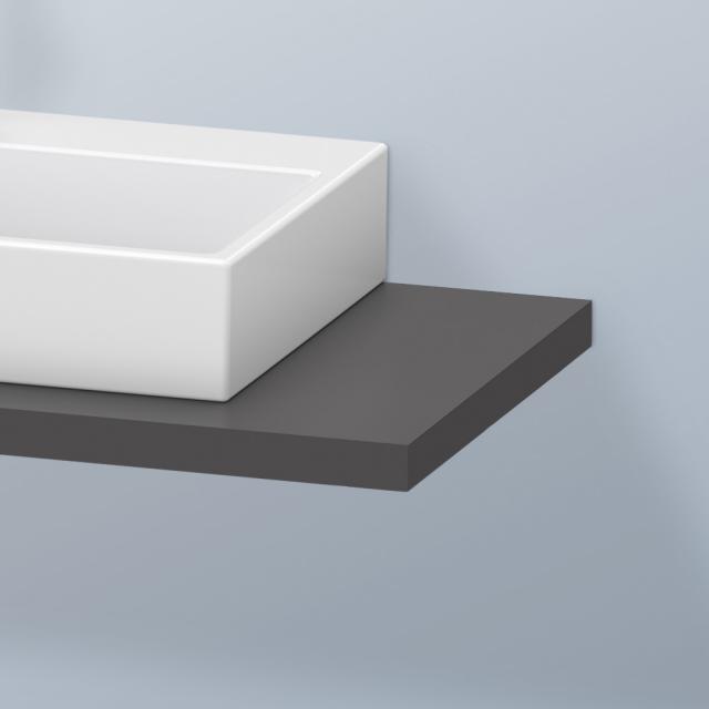 Duravit DuraStyle Konsole für 1 Aufsatz-/Einbauwaschtisch graphit matt