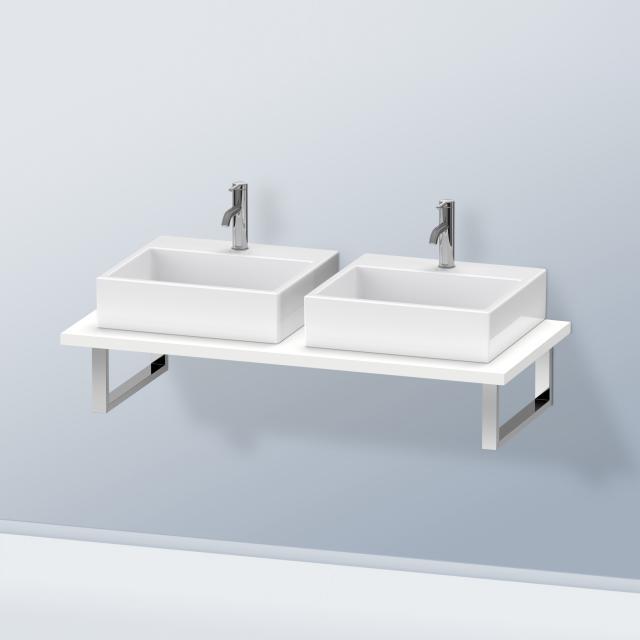 Duravit DuraStyle Konsole für 2 Aufsatz-/Einbauwaschtische weiß matt