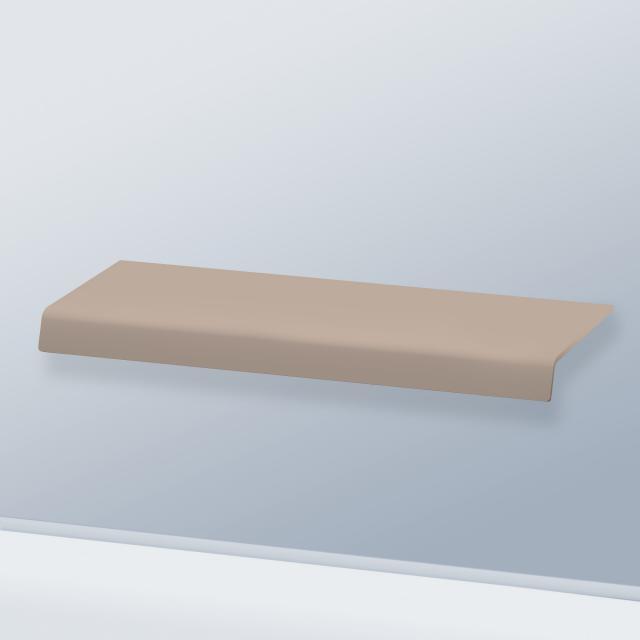Duravit DuraStyle Konsole ohne Ausschnitt basalt matt
