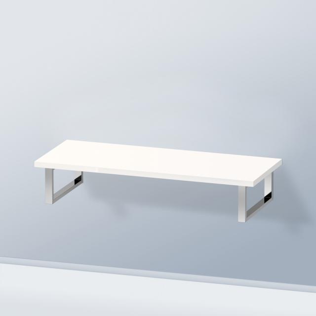 Duravit DuraStyle Konsole ohne Ausschnitt für Aufsatz-/Einbauwaschtisch weiß hochglanz