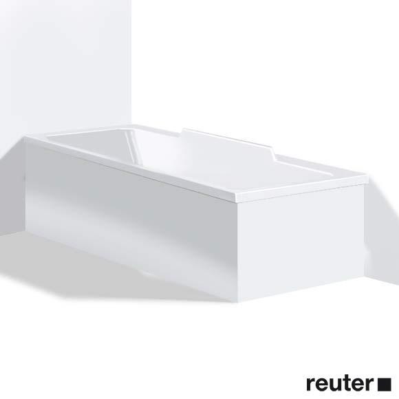Duravit DuraStyle Möbelverkleidung für Bade-/Whirlwanne, Ecke links weiß