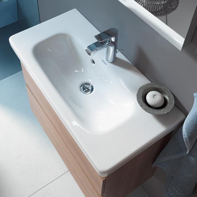 Duravit DuraStyle Möbelwaschtisch Compact weiß, mit 1 Hahnloch