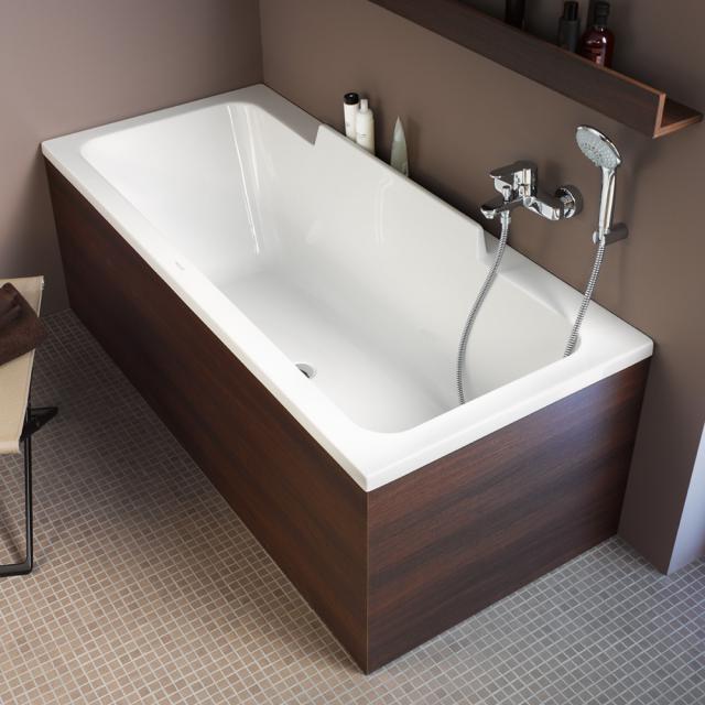 Duravit DuraStyle Rechteck-Badewanne, Einbau