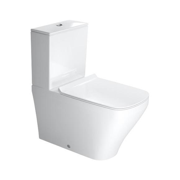 Duravit DuraStyle Stand-Tiefspül-WC für Kombination weiß