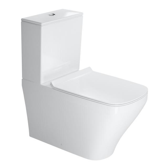 Duravit DuraStyle Stand-Tiefspül-WC für Kombination weiß, mit WonderGliss