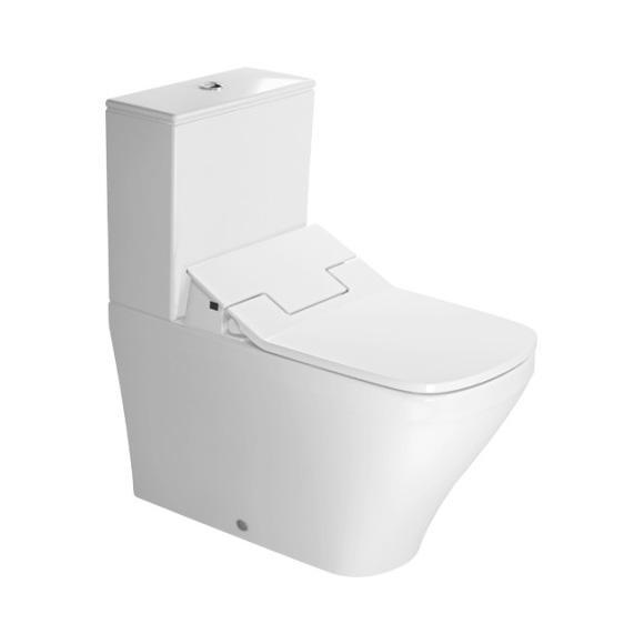 Duravit DuraStyle Stand-Tiefspül-WC für SensoWash, für Kombination mit Spülkasten weiß