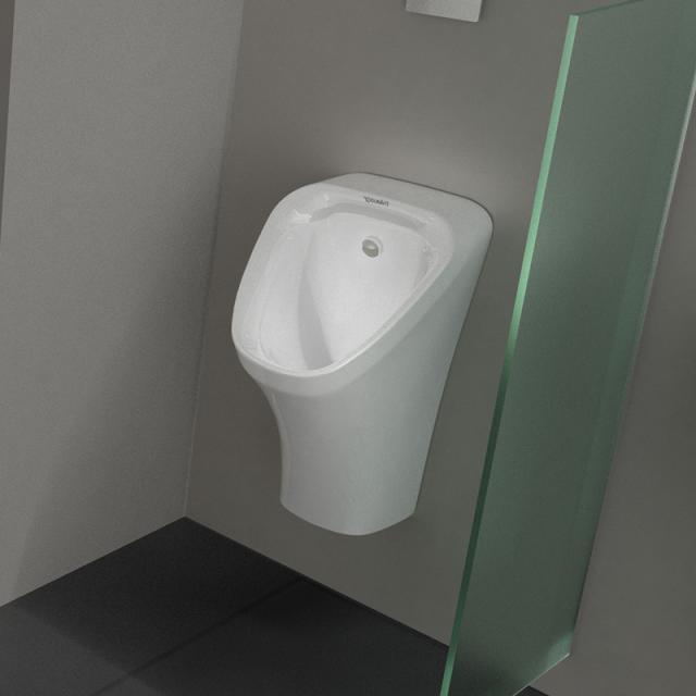 Duravit DuraStyle Urinal weiß, Zulauf hinten