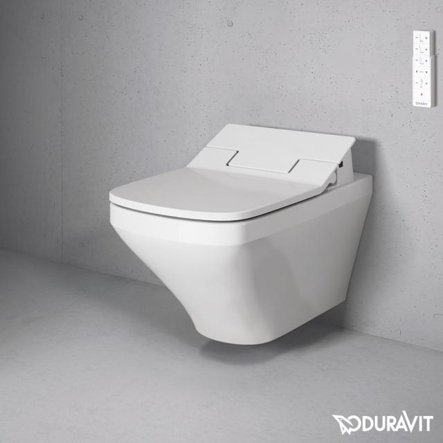 Duravit DuraStyle Wand-Tiefspül-WC rimless mit SensoWash® WC-Sitz weiß