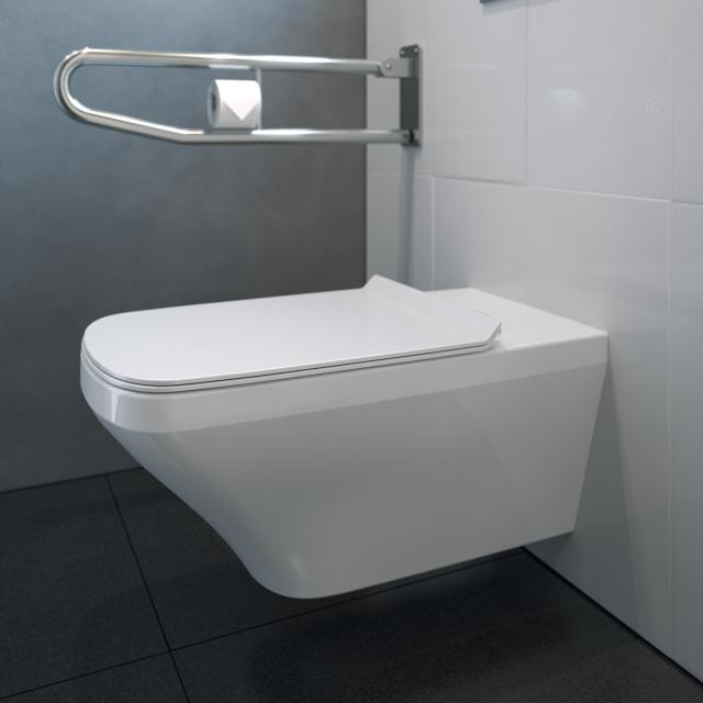 Duravit DuraStyle Wand-Tiefspül-WC Vital, rimless weiß, mit WonderGliss