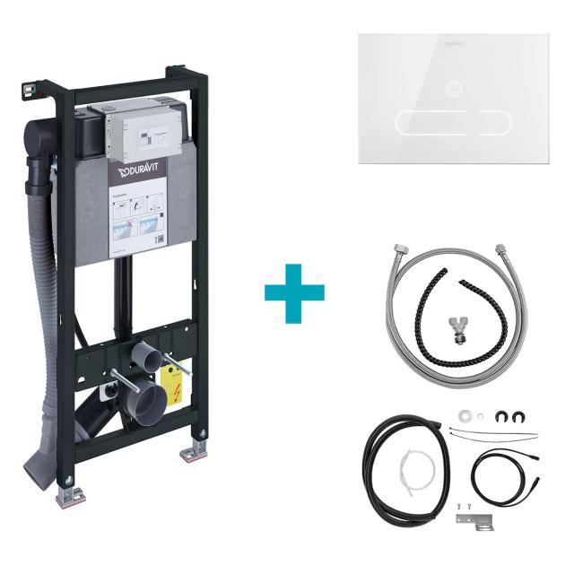 Duravit DuraSystem A2 Set für Starck f Dusch-WC, H: 114,8 cm, mit Geruchsabsaugung und Hygienespülung