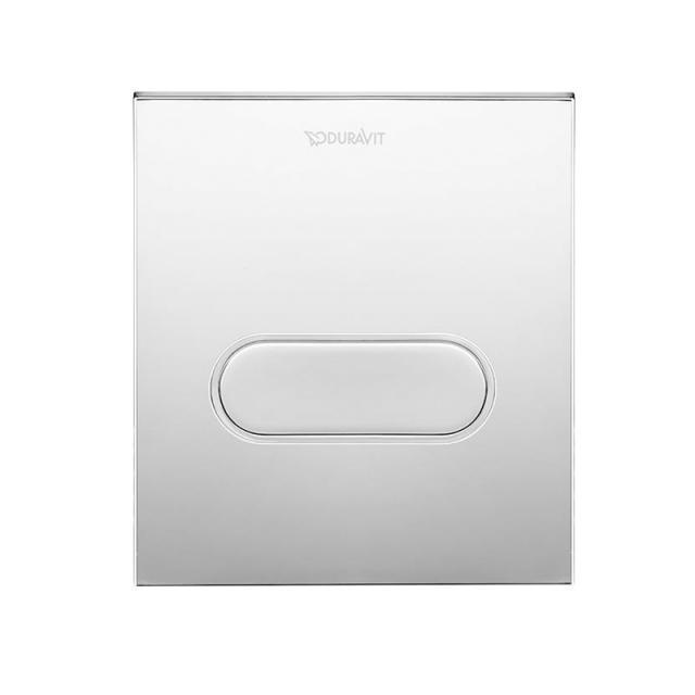 Duravit DuraSystem Betätigungsplatte A1 für Urinal, Kunststoff chrom