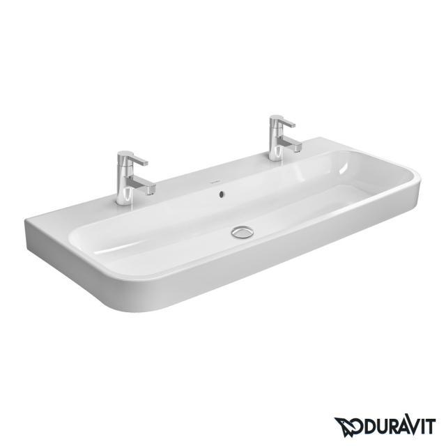 Duravit Happy D.2 Doppel-Möbelwaschtisch weiß, geschliffen