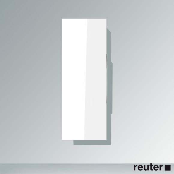 Duravit Happy D.2 Halbhochschrank mit 1 Tür Front weiß hochglanz / Korpus weiß hochglanz